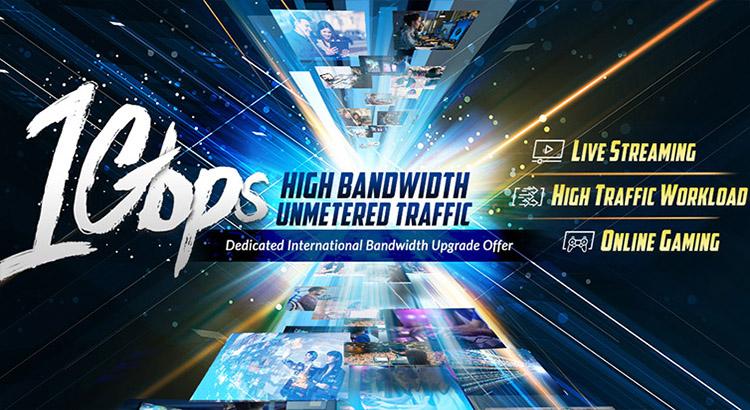 1Gbps International Bandwidth Upgrade Offer