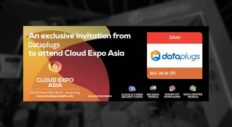Cloud Expo Asia 2019 见