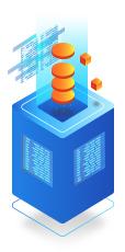 Big-volume Database Storage