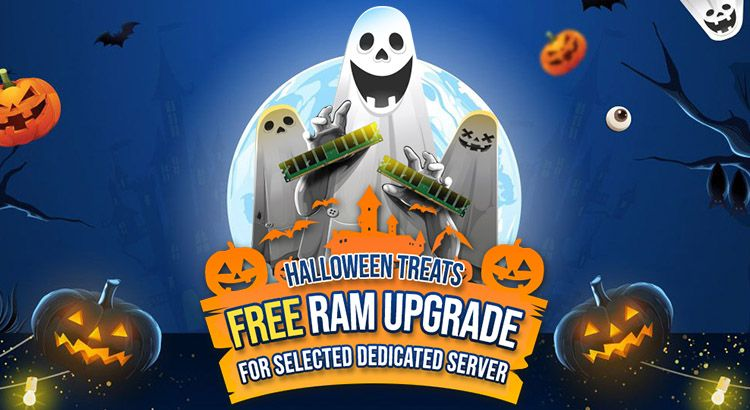 Free RAM Upgrade for Selected Dedicated Servers